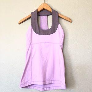 Lululemon Lavender Stripe Scoop Neck Tank Top 4